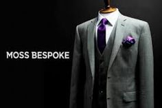 All London Deals Moss Bros, Bespoke Suit, Purple Wedding, Perfect Fit, Ready To Wear, Suit Jacket, Suits, How To Wear, Shopping