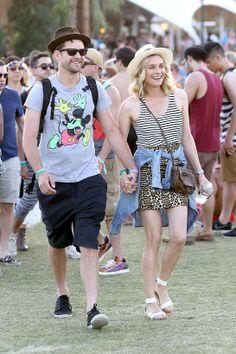 Diane Kruger au festival de Coachella
