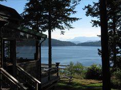 Dream cabin in Cortes Island, Canada