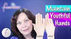 Welcome to #FACEROBICS® - Your Face Exercise Coach! How to Maintain Youthful Hands using the RENEW ME® Laser Lift & Serum. You will be amazed at the before a...