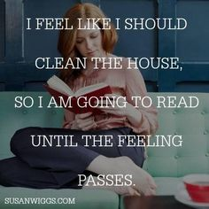 Read until the feeling passes!