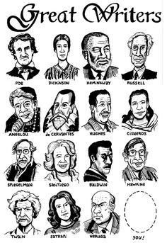 great writers - Google Search