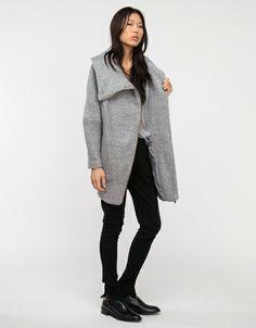 Temp Jacket in Grey Melange