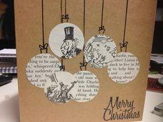 Weihnachtskarten basteln - 50 ans et une idée pour - Weihnachtsbasteln - Christmas Card Crafts, Homemade Christmas Cards, Christmas Cards To Make, Christmas Wrapping, Handmade Christmas, Homemade Cards, Christmas Crafts, Christmas Decorations, Christmas Balls
