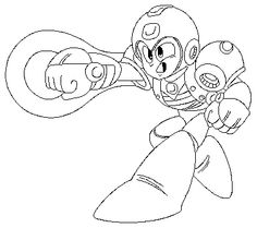 find this pin and more on printables and clip art power suit mega man coloring page