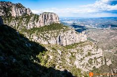Breathtaking view of the Montserrat Barcelona