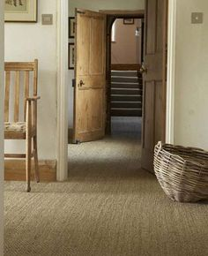 Crucial Trading Natural Floor Covering - contemporary - carpet flooring for guest bedrooms Decoration Design, Deco Design, Seagrass Carpet, Sisal Carpet, Seagrass Rug, Alternative Flooring, Contemporary Carpet, Natural Flooring, Natural Wood