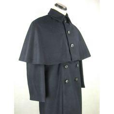 Второй мировой войны IJN Солдат Dark Blue Wool Great Coat + оплечье - $ 152.99: HIKISHOP