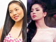 Ngỡ ngàng hình ảnh mỹ nhân Việt trước và sau khi nâng mũi