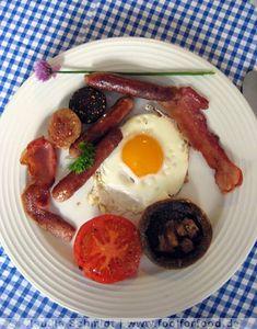 Irish Breakfast - irisches Frühstück - www.foolforfood.de