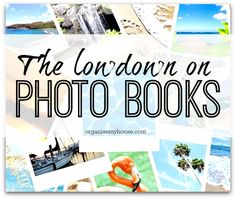 Photo Books are a great way of displaying treasured photos & recording special events - Here are a few ideas of how to create a photo book yourself, and what to put in them!