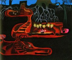 Mary Blair concept art from Peter Pan Mary Blair, Art Disney, Disney Concept Art, Disney Kunst, Disney Stuff, Animation Disney, Animation Film, Geeks, Film D'animation