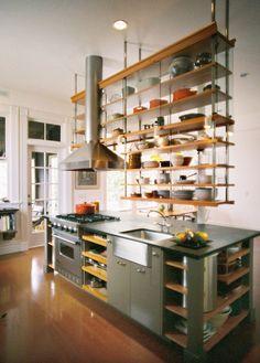 Open Shelf Kitchen Ideas — Open Kitchen Cabinets Photos — Eat Well 101