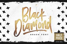 Posted by @newkoko2020 Black Diamond • 50% Off! by Sam Parrett on @creativemarket