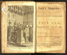 The Lady's Magazine or Entertaining Companion for the Fair Sex. London: Printed John Wheble, 1770-1837. Portada del v. II (1771)