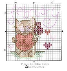 Cat Calendar, Cross Stitch Animals, Stuffed Animal Patterns, Farm Animals, Cross Stitch Patterns, Cat Stuff, Cats, Nature, Punto De Cruz