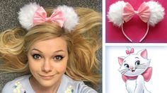 DIY Disney Ears! Easy Marie ears you can make :) https://youtu.be/LPSKyN88ESI . how to make your own #crafts follow @cutephonecases