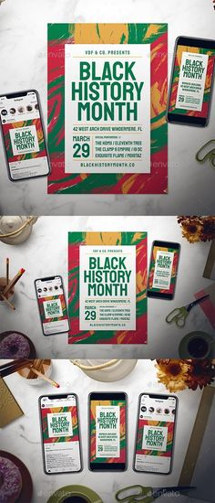 Buy Black History Month Flyer Set by dannyaldana on GraphicRiver. Easy to customize with well organize file, it helps you design the flyer in a short time! THE PACKAGE INCLUDES: 3 PSD. Event Poster Design, Graphic Design Posters, Flyer Design, Poster Designs, Poster Ideas, Black History Month Quotes, Black History Facts, Louis Armstrong, History Posters