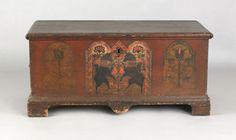 dower chest, ca. 1785