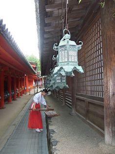Shrine maiden (by MShades, via Flickr)
