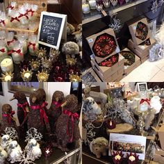 Lilys Flowers are in The Spa Boutique today with great gift and decoration ideas for the festive season! #wreaths #spa #florist #christmas