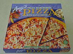 Amy's Vegan Margherita Pizza with Daiya Cheese