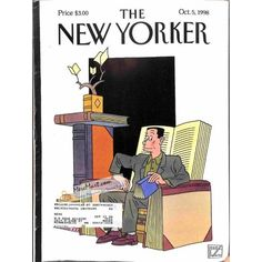 Cover Print of New Yorker, October 5 1998 | $6.60