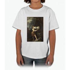 Bartolome Esteban Murillo - The Infant Saint John With The Lamb Young T-Shirt