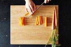 Good knife skills make prepping healthy vegetables & fruits sooo much easier. Watch FREE essential knife skills videos now!