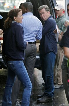 Tim Roth Photos - 'Lie to Me' Filming in Downtown LA - Zimbio