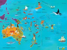 From our World Atlas, written by Nick Crane, illustrated by David Dean