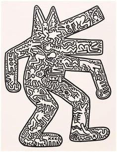 Find the latest shows, biography, and artworks for sale by Keith Haring. Bridging the gap between the art world and the street, Keith Haring rose to prominen… Arte Pop, Doodles Zentangles, Keith Haring Art, Ecole Art, Illustration, Art Plastique, American Artists, Graffiti Art, Art Lessons
