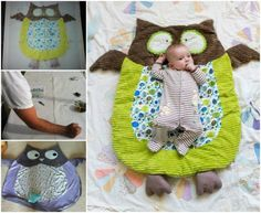 How To Make Owl Floor Mat That Your Baby Will Love | The WHOot