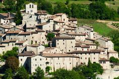 Una lunga storia umana e naturale, intimamente connessa in un delicato equilibrio, ha modellato il territorio del castello di Vallo di Nera, fondato nel 1217, sui resti di un'antica rocca a dominio di uno slargo della valle del Nera...
