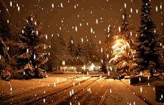 Sněží - štatsné a veselé vánoce