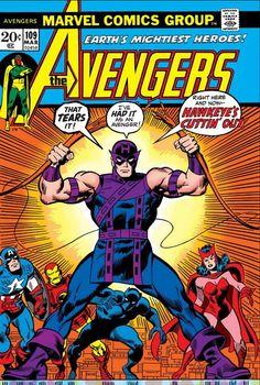 Avengers # 109 by John Buscema & Sal Buscema