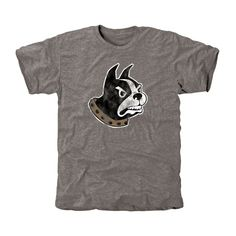Wofford Terriers Classic Primary Tri-Blend T-Shirt - Ash