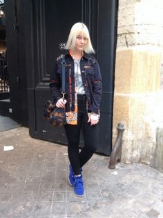 ISABEL MARANT Baskets, sneakers - MARC BY MARC JACOBS Sacs, sacoches -  ASOS Veste - RIVER ISLAND Veste - FOREVER 21 Top, t-shirt, débardeur - TOPSHOP Jean #women #mode #look #streetstyle http://moodlook.com/look/2014-04-03-france-paris-16