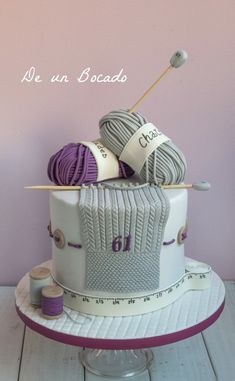 Knitting Cake, Knitting Wool, Sewing Cake, Realistic Cakes, Classic Cake, Just Cakes, Specialty Cakes, Novelty Cakes, Cake Creations