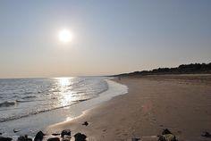 La spiaggia Valle Vecchia al tramonto
