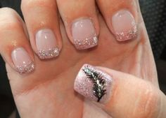 My feather nails <3