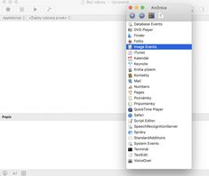 Načo je dobrá appka v macOS Script Editor? Scripts, Keynote, Itunes, Editor, Chart, Apple, Apple Fruit, Apples