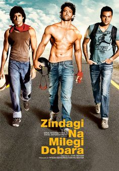 Licensed poster from the movie Zindagi Na Milegi Dobara (2011)