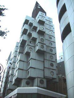 Torre Nakagin, Tokio, Japón