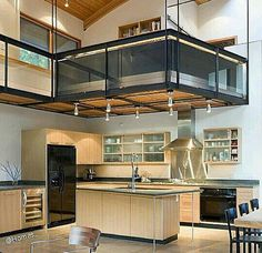 Looking for loft conversion design ideas? Make the extra room in your home count with these smart ideas for making the most of your loft conversions. Kitchen Interior, Home Interior Design, Interior Architecture, Loft Kitchen, Modern Interior, Open Kitchen, Interior Ideas, Modern Furniture, Room Interior