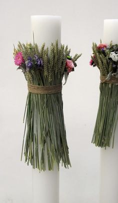 Chic & simple wedding candles for a bohemian wedding Greek Wedding, Boho Wedding, Rustic Wedding, Wedding Trends, Wedding Designs, Wedding Tips, Flower Decorations, Wedding Decorations, Wedding Bouquets