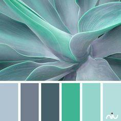 Color palettes 357191814196525691 - Color Inspiration Turquoise Color Palette Paint Inspiration- Paint Colors- Paint Palette- Color Source by vgillant Colour Pallette, Color Palate, Colour Schemes, Color Combos, Grey Palette, Best Color Combinations, Color Schemes For Bedrooms, Color Schemes With Gray, Kitchen Color Schemes