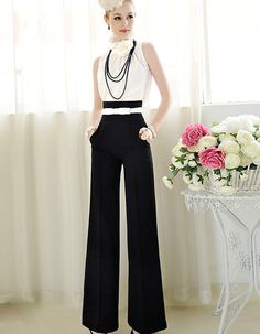 Nothings makes a bigger statement than a Glamdoll wearing Trousers. Black high waist Trouser Pant in stock ready to ship. Fit Type: Loose Pant Style: Wide Leg Pants Pattern Type: Solid Front Style: Pleated Style: Business Brand Name: YOUYEDIAN Waist Type: High Fabric Type: Broadcloth Material: Cotton Length: Full Length Closure Type: Zipper - Sizes:Small-Xl