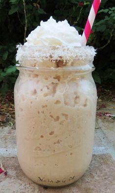 Coconut Mocha Frappe  www.redcedarcafe.com  #cafe #lansing #redcedarcafe #coffee #lunch #cook #bake #snacks #yum