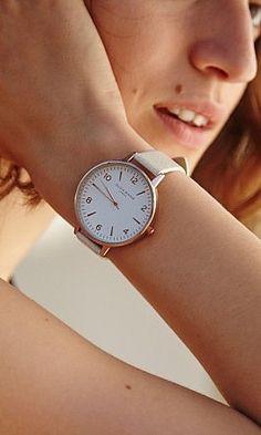 Rose Gold Classic Watch - Plümo Ltd